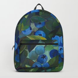 A Blueberry View Backpack