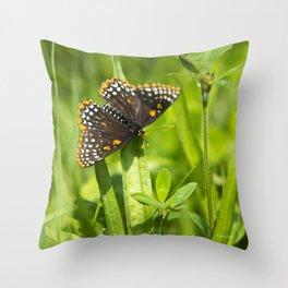 Pretty Butterfly Throw Pillow