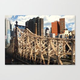 From the Tram - New York Canvas Print