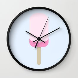 Melting Rose Popsicle Wall Clock