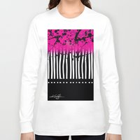 artsy Long Sleeve T-shirts featuring Artsy Noise by Kathy Morton Stanion