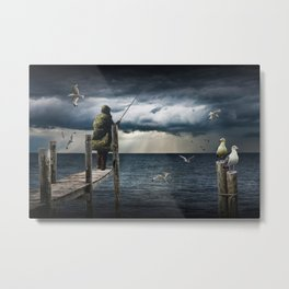 The Fish Are In Metal Print