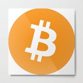 Bitcoin Currency Metal Print