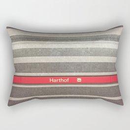 Munich U-Bahn Memories - Harthof Rectangular Pillow
