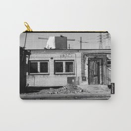 left alone, forgotten home, ruined building, warsaw, poland Carry-All Pouch
