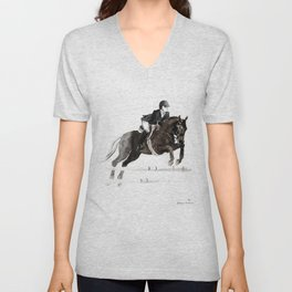 Horse (Jumper II) Unisex V-Neck