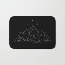 The Night Court insignia from A Court of Frost and Starlight Bath Mat