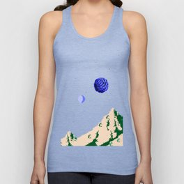 Twin Moons World Unisex Tank Top