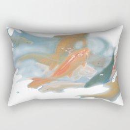 koi {white} Rectangular Pillow
