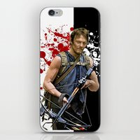 daryl iPhone & iPod Skins featuring Daryl Dixon by SB Art Productions
