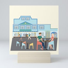Scorch-o-rama, Scorching Bay, Wellington, NZ Mini Art Print