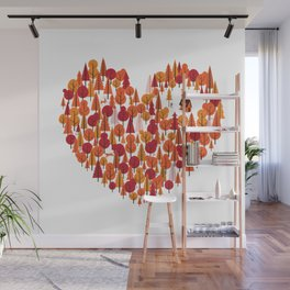 Wild at Heart Wall Mural