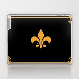 Gold And Black Laptop & iPad Skin