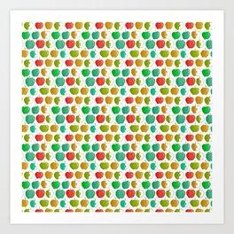 Bold Apples Art Print