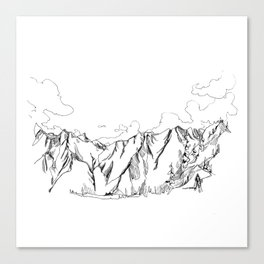 Up The Duffey Canvas Print