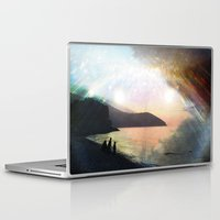 stay gold Laptop & iPad Skins featuring stay gold by Kiki collagist