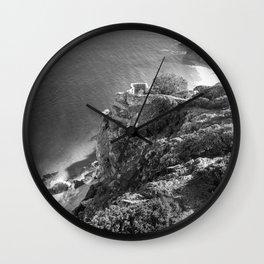 Cliffs along Cape Point, South Africa Wall Clock