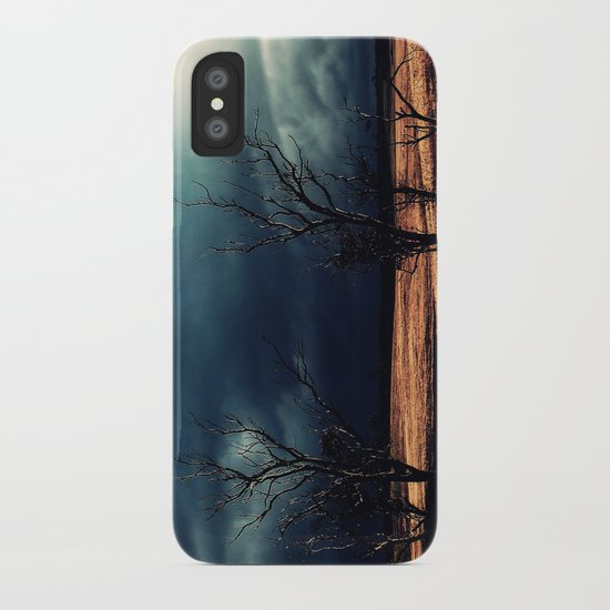 The relief of an Aussie drover iPhone Case