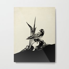 Crows must never win Metal Print