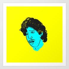 Ross Geller Art Print