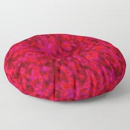 crazed colors 4 Floor Pillow