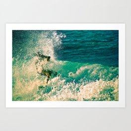 Surf Spray Art Print