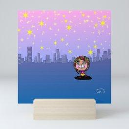 Beautiful City Morning Mini Art Print