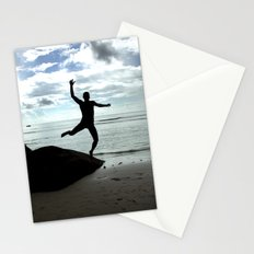 Open your mind, freedom's a state Stationery Cards