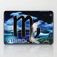 virgo iPad Cases featuring Virgo by LBH Dezines