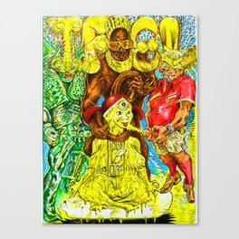 I FEEL PISSED ON Canvas Print