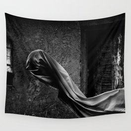 Ghostly Wall Tapestry