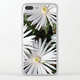 Flowering sun wheels Clear iPhone Case