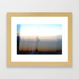 Barcelona Sunrise Framed Art Print
