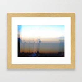 Barcelona Sunrise Framed Art Print