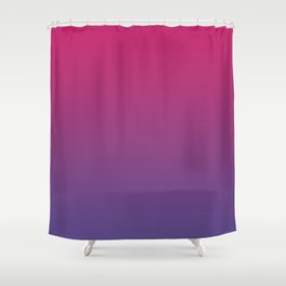 Pink Peacock Ultra Violet Gradient Pattern Shower Curtain