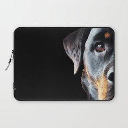 Rottie Love - Rottweiler Art By Sharon Cummings Laptop Sleeve