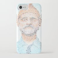 steve zissou iPhone & iPod Cases featuring The Aquatic Steve Zissou by Robotic Ewe