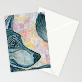 Moving Forward, Looking Back Stationery Cards