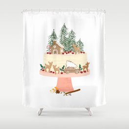 Enchanted Cake Shower Curtain