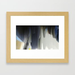 Wide Calm Jazz Framed Art Print