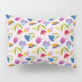 Flowers and Butterflies Pillow Sham