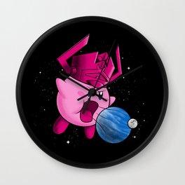 Inhaler of Worlds Wall Clock
