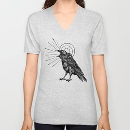 HOLY CROW Unisex V-Neck