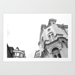 Local church  Art Print