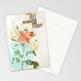 The Vacuum of Its Beauty Stationery Cards