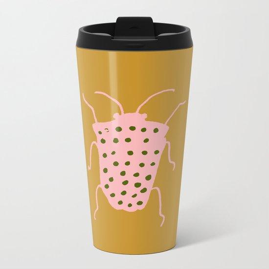 arthropod mustard Metal Travel Mug