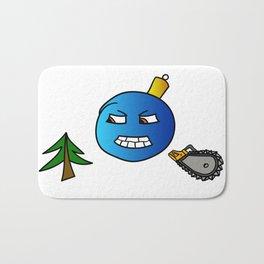 Evil Christmas series Christmas tree toy Bath Mat