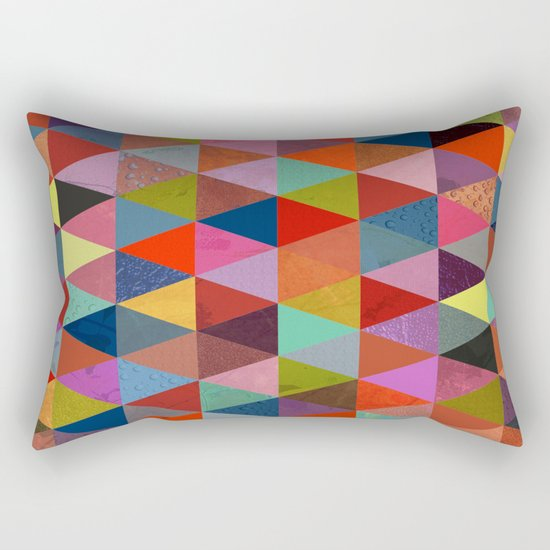 Abstract #287 Rectangular Pillow