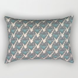 Ink creature 01 pattern Rectangular Pillow