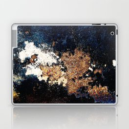 Alien Continents ruined wall texture grunge Laptop & iPad Skin